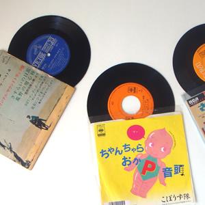 シングルレコード盤(ドーナッツ盤)