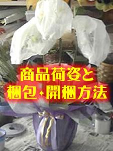 商品荷姿と梱包・開梱方法
